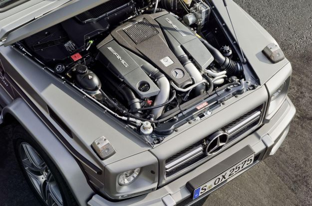 Mercedes G63 AMG 2012 motore