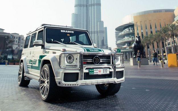 Mercedes G63 AMG Brabus Polizia Dubai