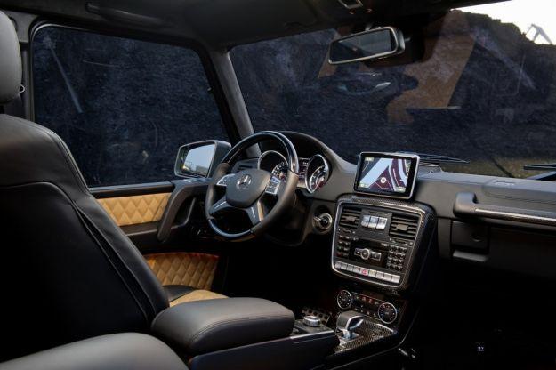 Mercedes G65 AMG interni