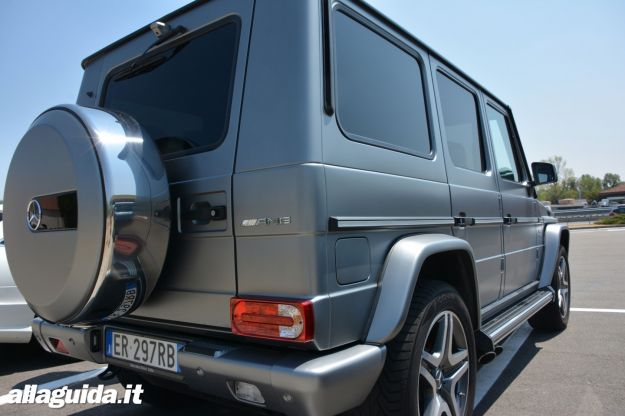 Mercedes G65 AMG posteriore