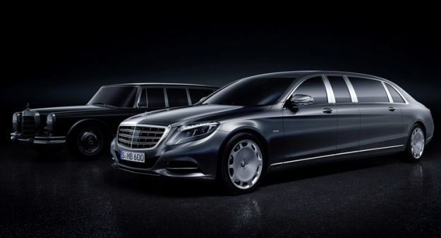 Mercedes Maybach Pullman 155