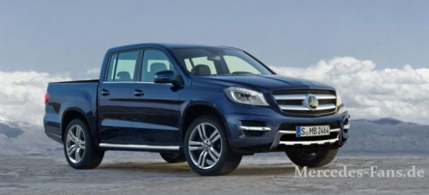Mercedes Pick Up Premium