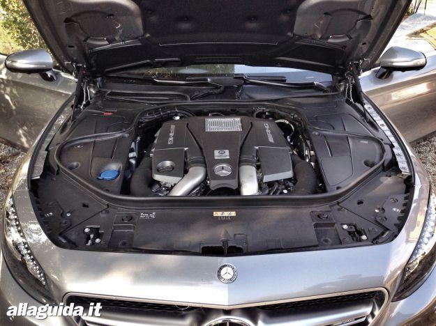 Mercedes S63 AMG Coupé 2014 motore