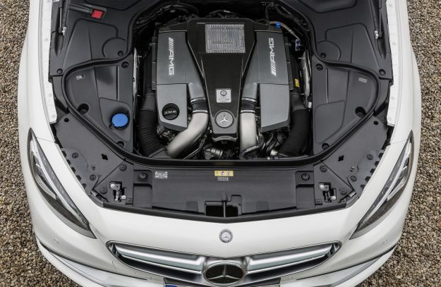 Mercedes S63 AMG Coupe 2014 motore