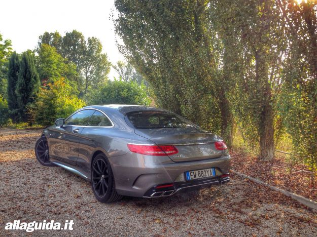 Mercedes S63 AMG Coupe test drive