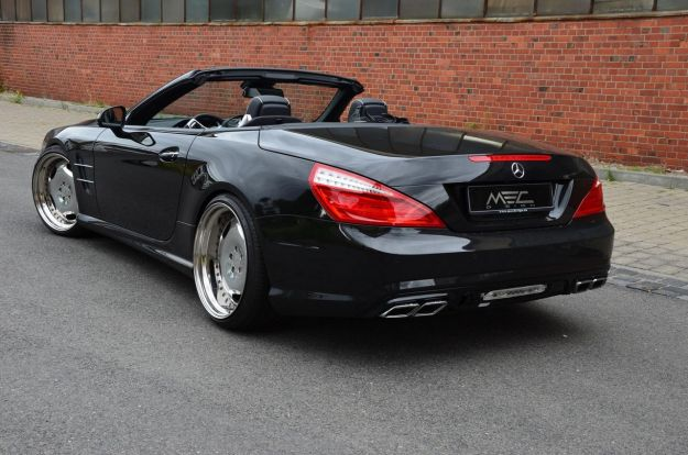 Mercedes SL 500 by MEC Design retro