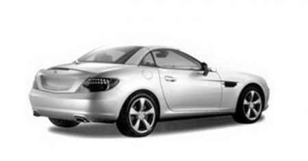 Mercedes SLK immagini sfuggite 2