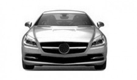 Mercedes SLK immagini sfuggite