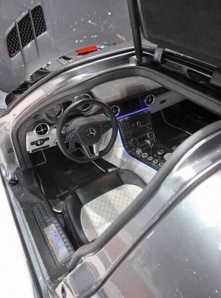 Mercedes SLS AMG Brabus aperta