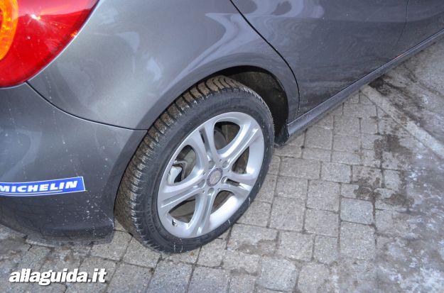 Mercedes classe a pneumatici michelin