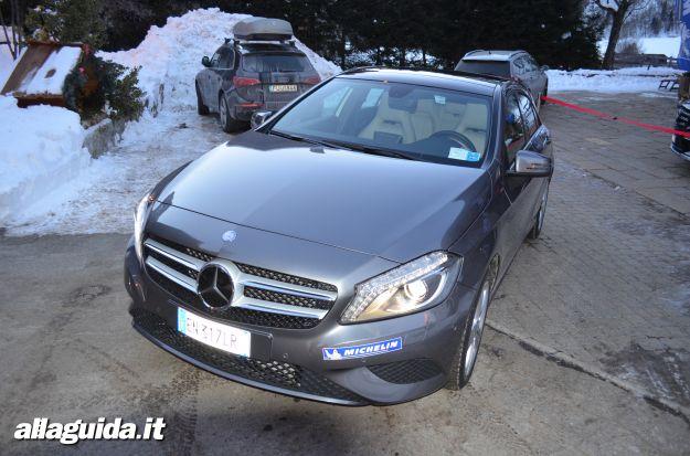 Mercedes classe a, prova su strada