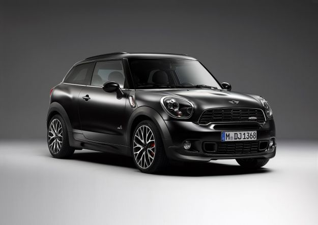 Mini Paceman Frozen Black, anteriore