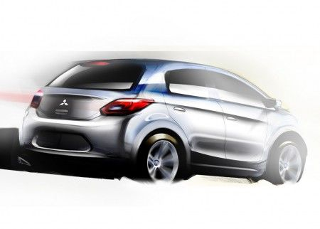 Mitsubishi Global Small Concept sketch