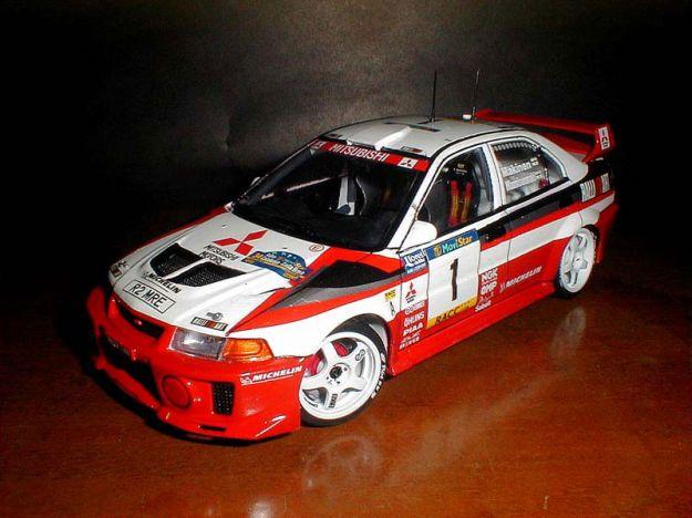 Mitsubishi Lancer Evo 5 WRC Rally