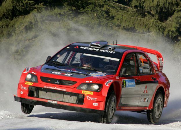 Mitsubishi Lancer WRC Rally