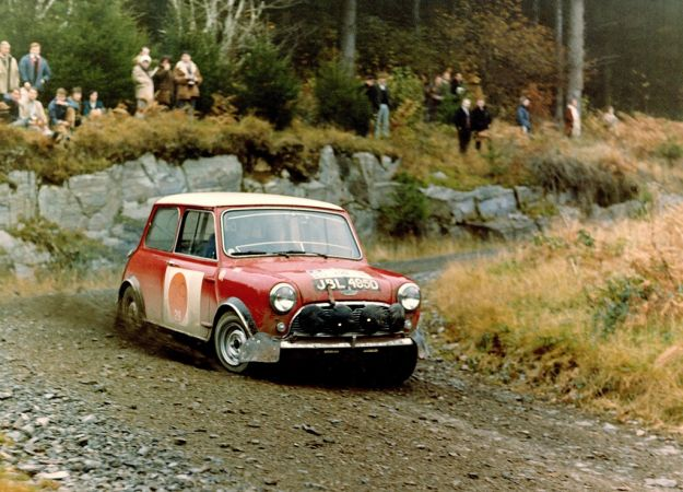Morris Mini Cooper S Rally muso