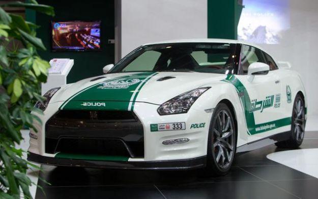 Nissan GT R Polizia Dubai