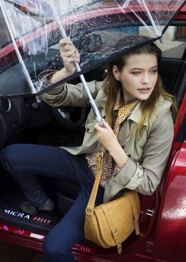 Nissan Micra Elle lato guida