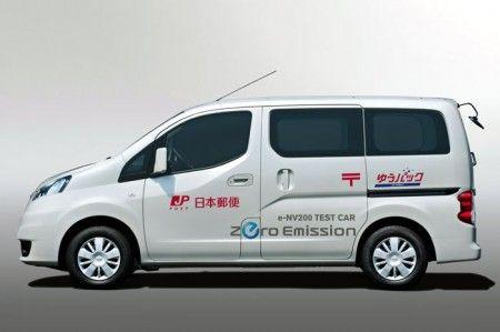 Nissan e NV200 auto elettrica