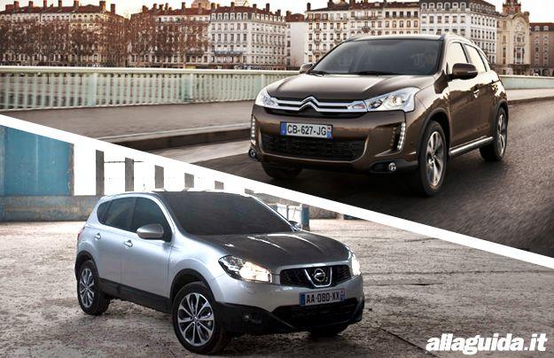Nissan qashqai_vs_Citroen C4 aircross