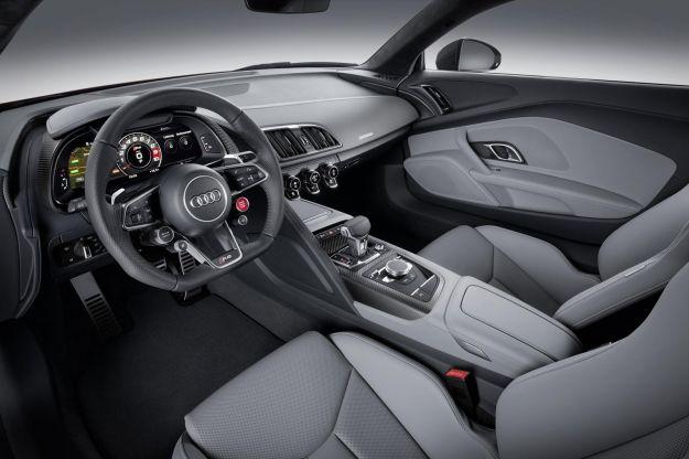 Nuova Audi R8 2015 interni
