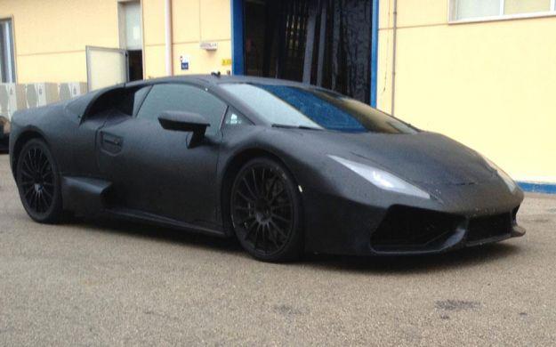 Nuova Lamborghini Gallardo, foto spia fiancata