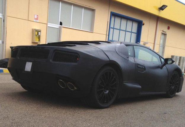Nuova Lamborghini Gallardo, foto spia posteriore