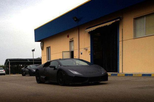 Nuova Lamborghini Gallardo, foto spia