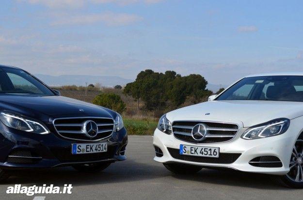 Nuova Mercedes Classe E  2013 Motori