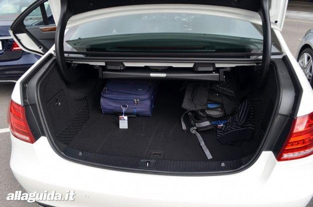 Nuova Mercedes Classe E  2013 bagagliaio
