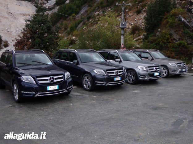 Nuova Mercedes GLK 2012 a Carrara