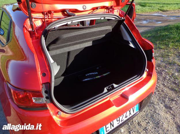 Nuova Renault Clio 2013, bagagliaio