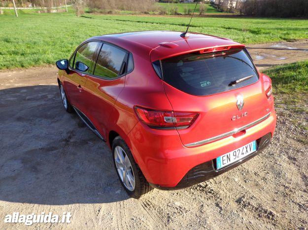 Nuova Renault Clio 2013, prova su strada