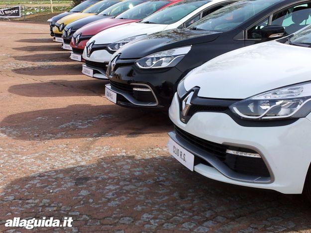 Nuova Renault Clio RS 2013, consumi