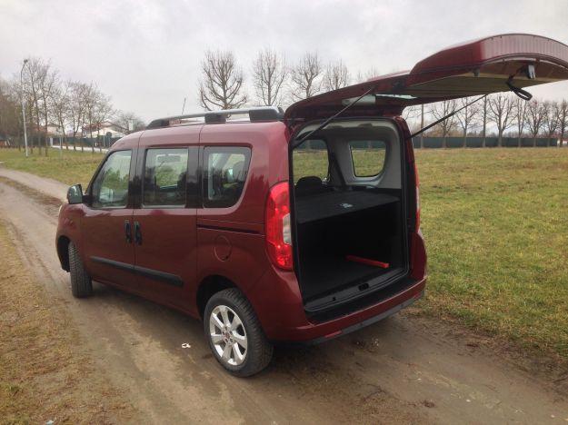 Nuovo Fiat Doblò 2015 bagagliaio