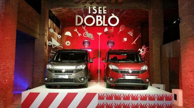 Nuovo Fiat Doblò 2015, prova su strada anche della versione Cargo