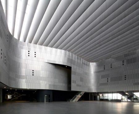 Nuovo Museo dell automobile di Torino interni