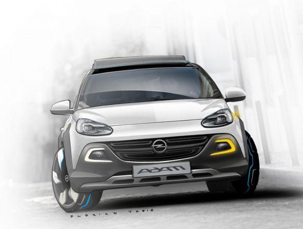 Opel Adam Rocks, frontale