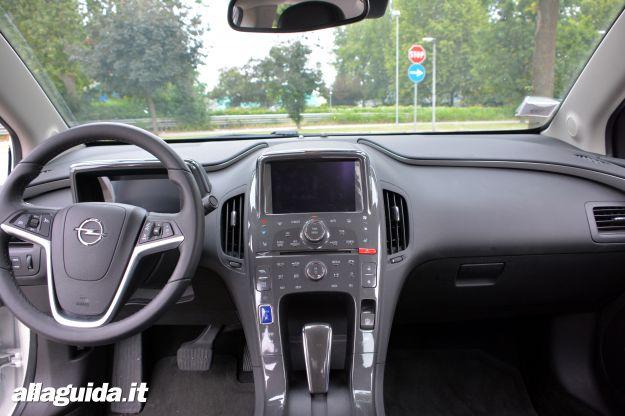 Opel Ampera, interni