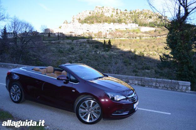 Opel Cascada, prova su strada