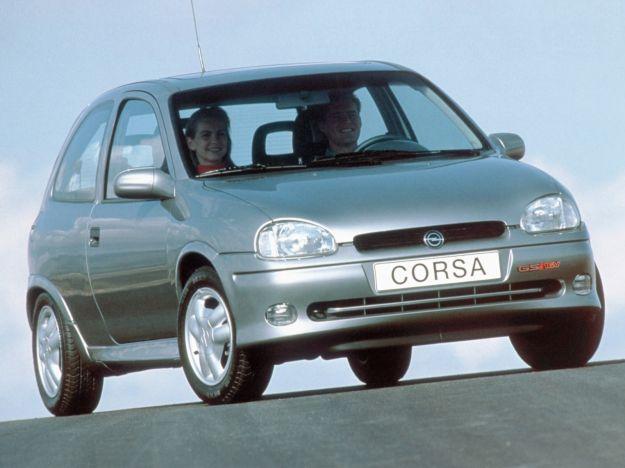 Opel Corsa seconda serie