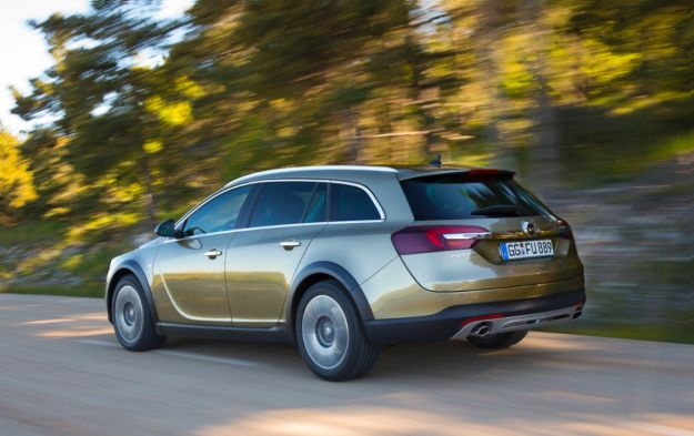 Opel Insignia Country Tourer, posteriore