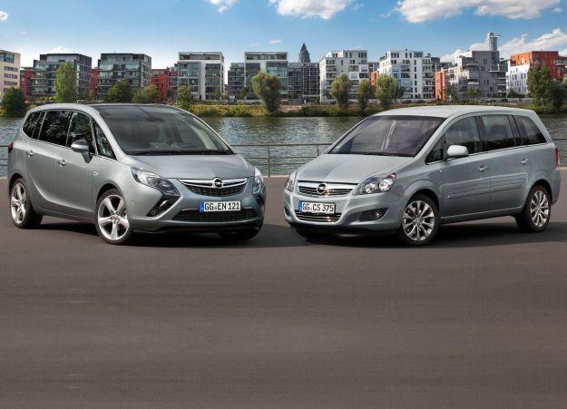 Opel Zafira Tourer 2012 generazione