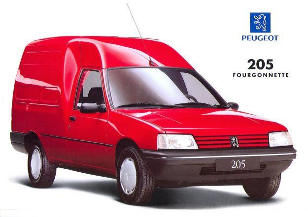 Peugeot 205 Fourgonette 94 1