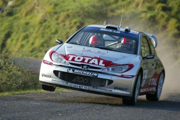 Peugeot 206 WRC Rally