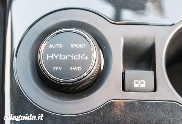 Peugeot 3008 Hybrid4_modalità_guida