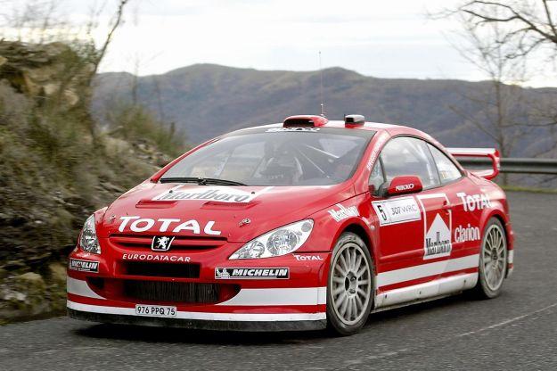 Peugeot 307 WRC Rally