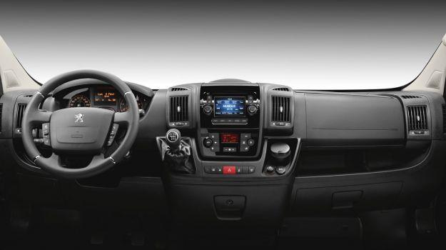 Peugeot Boxer 2014 interni