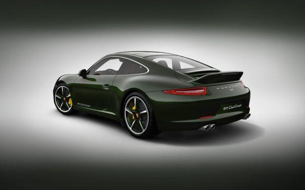 Porsche 911 Club Coupe,posteriore