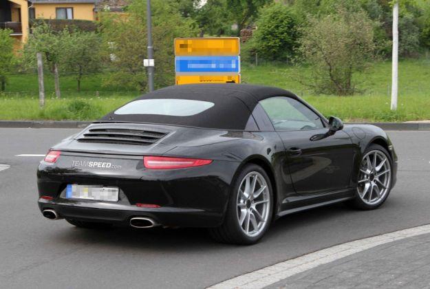 Porsche 911 Targa 2013, coda